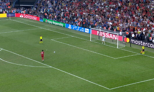 Winning penalty Liverpool - Chelsea