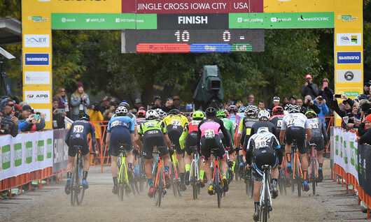 Samenvatting Mannen / UCI World Cup Iowa