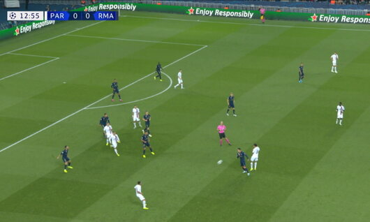 Goal: Paris SG 1 - 0 Real Madrid 14', Di Maria