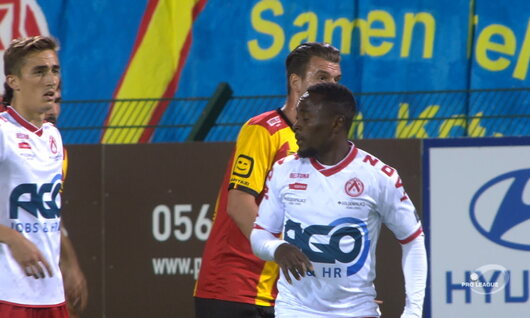 Goal: Courtrai 1 - 3 Malines 62', Vanzeir