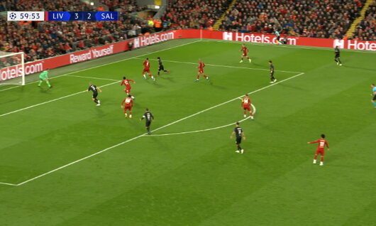 Goal: Liverpool 3 - 3 Red Bull Salzbourg 60', Haland