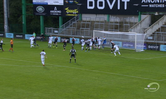 Goal: RE Virton 1 - 1 Roeselare 22', Jordanov