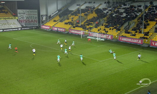 Penalty: Lokeren 1 - 2 RE Virton 85', Habibou