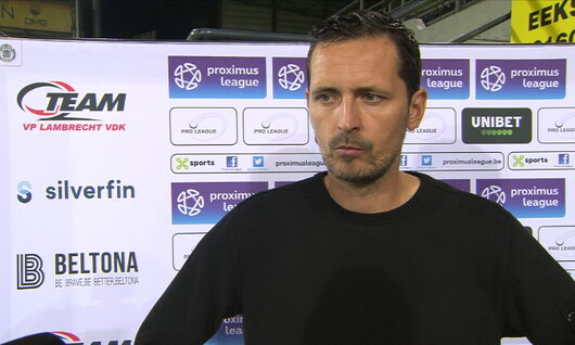 Interviews Virton (Lokeren - RE Virton)