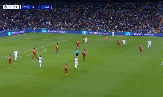 Goal: Real Madrid 5 - 0 Galatasaray 81', Benzema