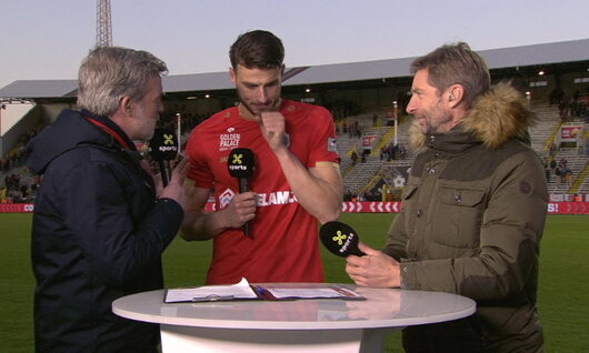 Interview Hoedt na Royal Antwerp - Club Brugge