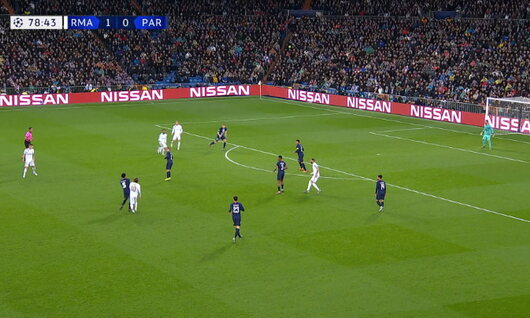 Goal: Real Madrid 2 - 0 Paris SG 79', Benzema