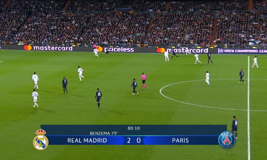 Goal: Real Madrid 2 - 1 Paris SG 81', Mbappe