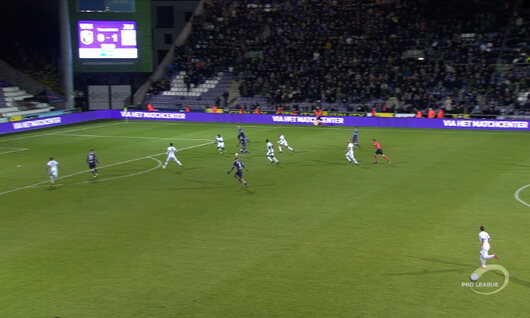 Goal: Beerschot 1 - 1 RE Virton 90', Holzhauser