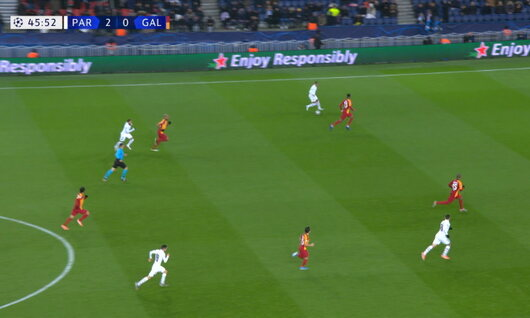 Goal: Paris SG 3 - 0 Galatasaray 47', Neymar