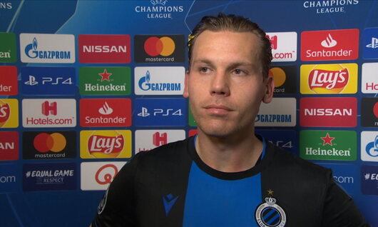 Interview Vormer na Club Brugge - Real Madrid