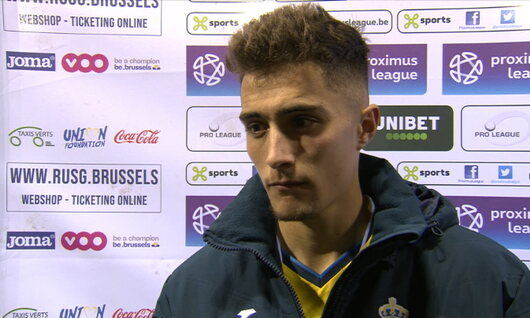 Interviews Union Saint Gilloise (Union Saint Gilloise - Lokeren)