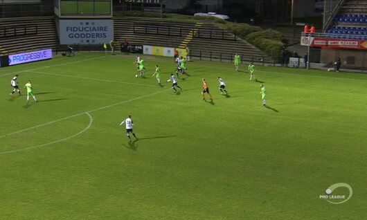 Goal: Roulers 0 - 1 RE Virton 47', Lapoussin