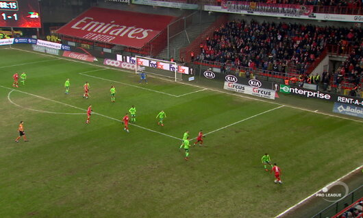 Goal: Standard 2 - 1 Ostende 89' Laifis