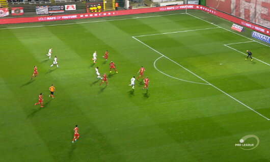Goal: Royal Antwerp 0 - 1 SV Zulte Waregem 14', Bruno