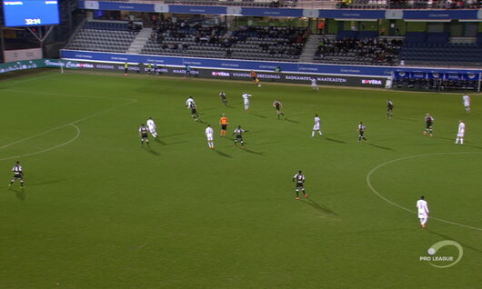 Goal: OH Leuven 2 - 1 Roeselare 33', Henry