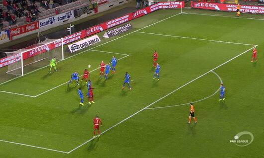 Own Goal: Royal Antwerp - KRC Genk 39', Maehle