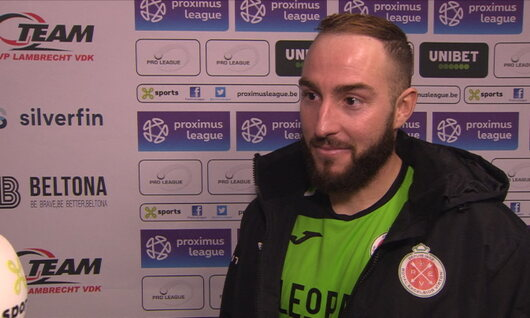 Interviews Virton (KSC Lokeren - RE Virton)