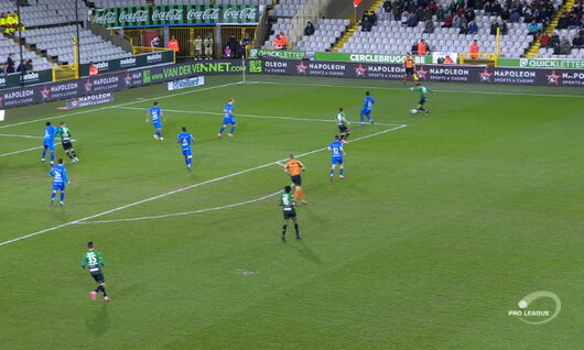 Own Goal: Cercle Brugge 1 - 0 KAA Gent 1', Castro Montes