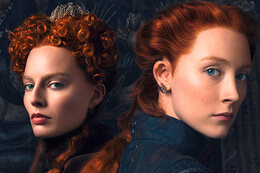 Saoirse Ronan en Margot Robbie in 'Mary, Queen of Scots'