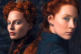 Saoirse Ronan en Margot Robbie in 'Mary, Queen of Scots'