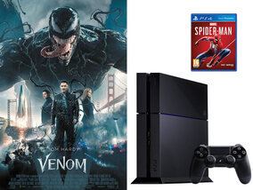 Venom: win een PlayStation 4 en een Marvel's Spiderman PS4-game!