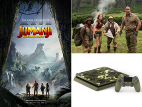 Win een PlayStation 4 dankzij Jumanji: Welcome to the Jungle!