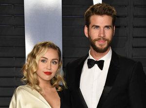 Miley en Liam doneren gul aan brandweermannen