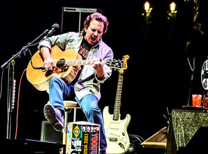 Eddie Vedder - Vorst Nationaal, Brussel