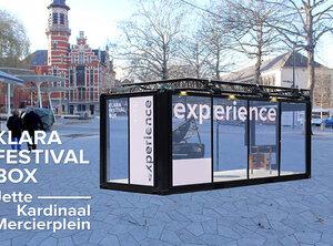Et la gagnant du sondage Klarafestival Box est : la Place Cardinal Mercier de Jette!