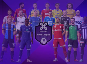 Regardez en direct la Proximus ePro League