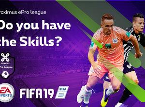 De Pro League en Proximus lanceren de Proximus ePro League, de officiële EA SPORTS FIFA 19-competitie in België