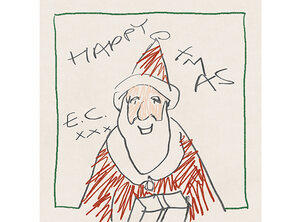 Eric Clapton heeft een kerstalbum uit