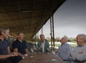 Belgische ploegleiders van Tour-winnaars in De Kleedkamer
