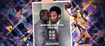 Kobe Bryant, Tim Duncan en Kevin Garnett (eindelijk) opgenomen in NBA Hall of Fame