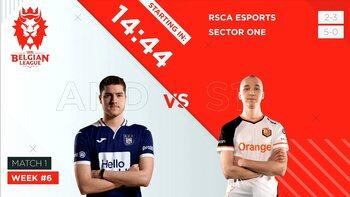 Belgian League week 6: Sector One verzwakt niet, TimeOut volgt