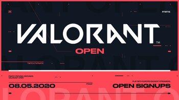 Ex6TenZ, iDex en ScreaM nemen deel aan Fnatic Proving Grounds: Valorant Open