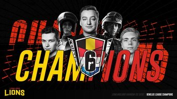 Rainbow 6 : LowLandLions remporte la Benelux League
