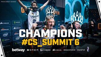 BIG grands vainqueurs du cs_summit 6