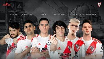 Le club de foot River Plate débarque sur Counter Strike