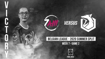 Team 7AM brille, Sector One, KVM et Aethra qualifiés pour les play-offs de la Belgian League