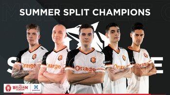 Belgian League: Sector One wint tweede titel op rij