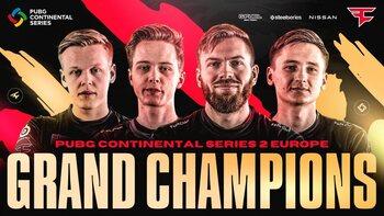 PUBG : FaZe Clan est champion d'Europe