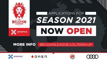Belgian League 2021: de inschrijvingen zijn open