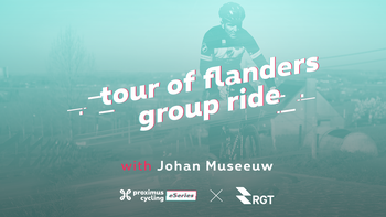 Ontdek samen met Johan Museeuw de vierde challenge in de Proximus Cycling eSeries