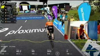 Proximus Cycling eSeries, het nieuwe virtuele fietsplatform van Flanders Classics