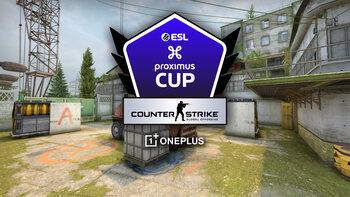 Speeldag 4 van de ESL Proximus Cup op CSGO