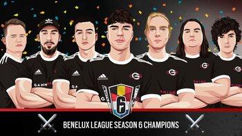 R6S Benelux League: een verrassende finale en een verwachte kampioen