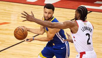Play-offs NBA : Golden State - Toronto, match de titans à suivre sur Proximus TV via Eleven Sports