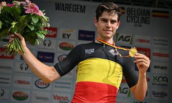 Van Aert: pas 5e Belgische kampioen in Tour in 20 jaar